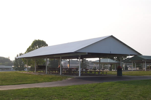 We have many pavilions available