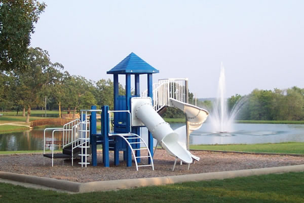 Playground equipment for all ages